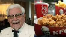 How much KFC will pay parents to name their child after the Colonel