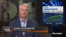 ServiceNow CEO on earnings and cloud business
