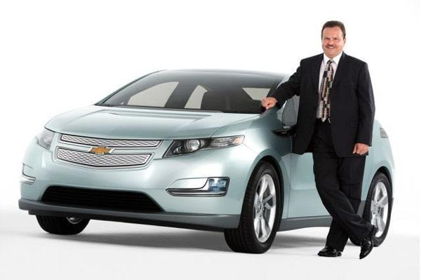 Chevy Volt rolls out into the open at long last
