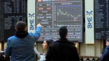 La Bolsa española acoge con leves pérdidas el preacuerdo de Gobierno