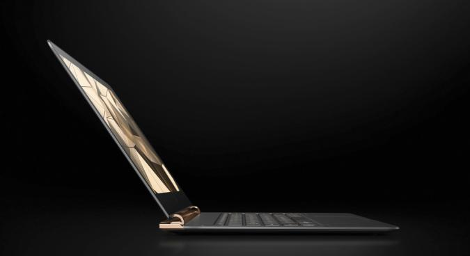HP's Spectre 13.3 laptop is as thin as a AAA battery