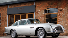 James Bond Aston Martin DB5 now up for auction