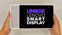 Lenovo Smart Display unboxing