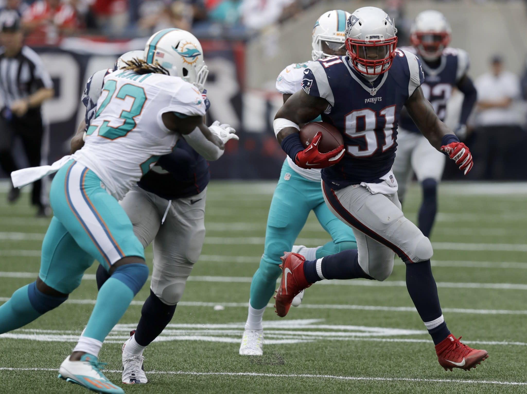 Trade surprise Patriots send LB Jamie Collins to Cleveland