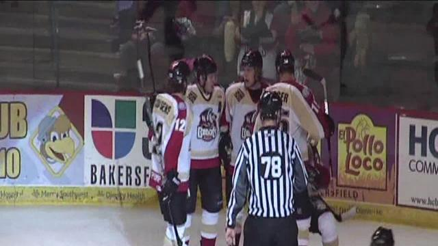 Condors get a shutout of Idaho in their fifth straight meeting