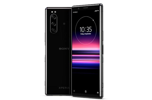 Sony's Xperia 5 is another long OLED smartphone
