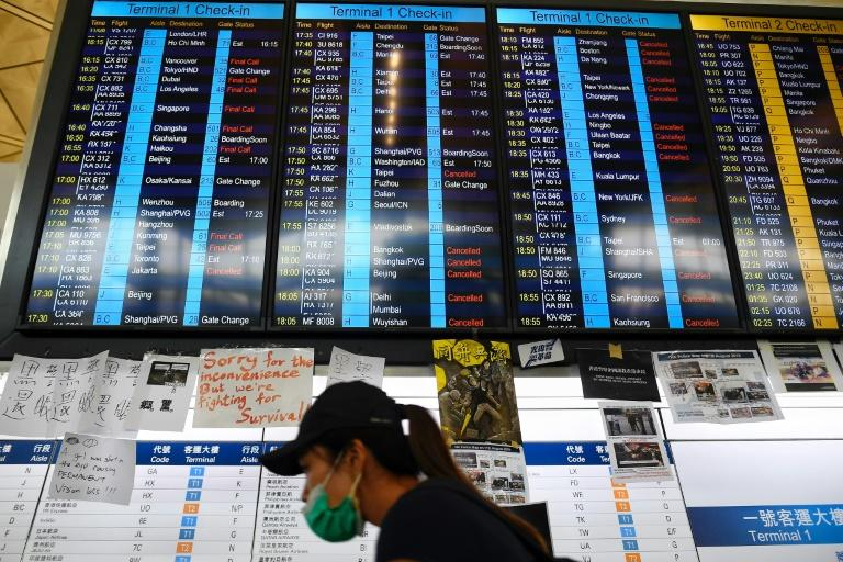 Hong Kong airport says operations now normal