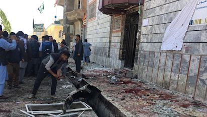 31 Tote bei Selbstmordanschlag in Kabul