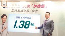 銀行搶稅貸跌破1.4厘