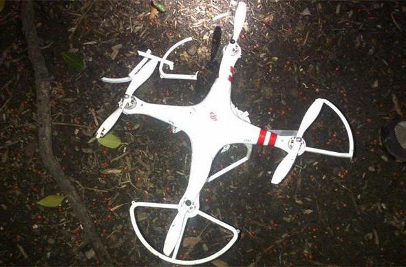 A drunk intelligence worker crashed that drone near the White House