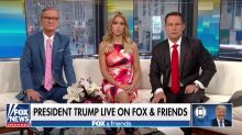 Trump had a revealing meltdown on 'Fox & Friends' this morning