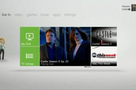 All Xbox dash apps must have Kinect functionality going forward