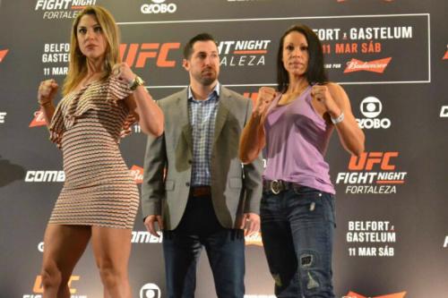 Marion e Bethe fazem a única luta feminina da noite - Tobias Bunnenberg