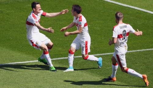 2. Liga: VfB springt nach Derby-Sieg auf Platz eins