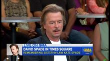 David Spade opens up about his sister-in-law's passing