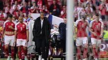 Christian Eriksen sends greetings to Denmark teammates from hospital