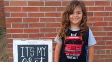 Mum furious after 4-year-old son sent home for his long hair