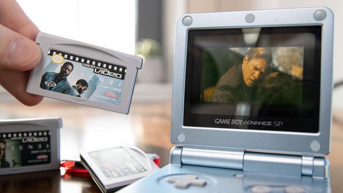 Tenet on Game Boy Advance Video cartridges