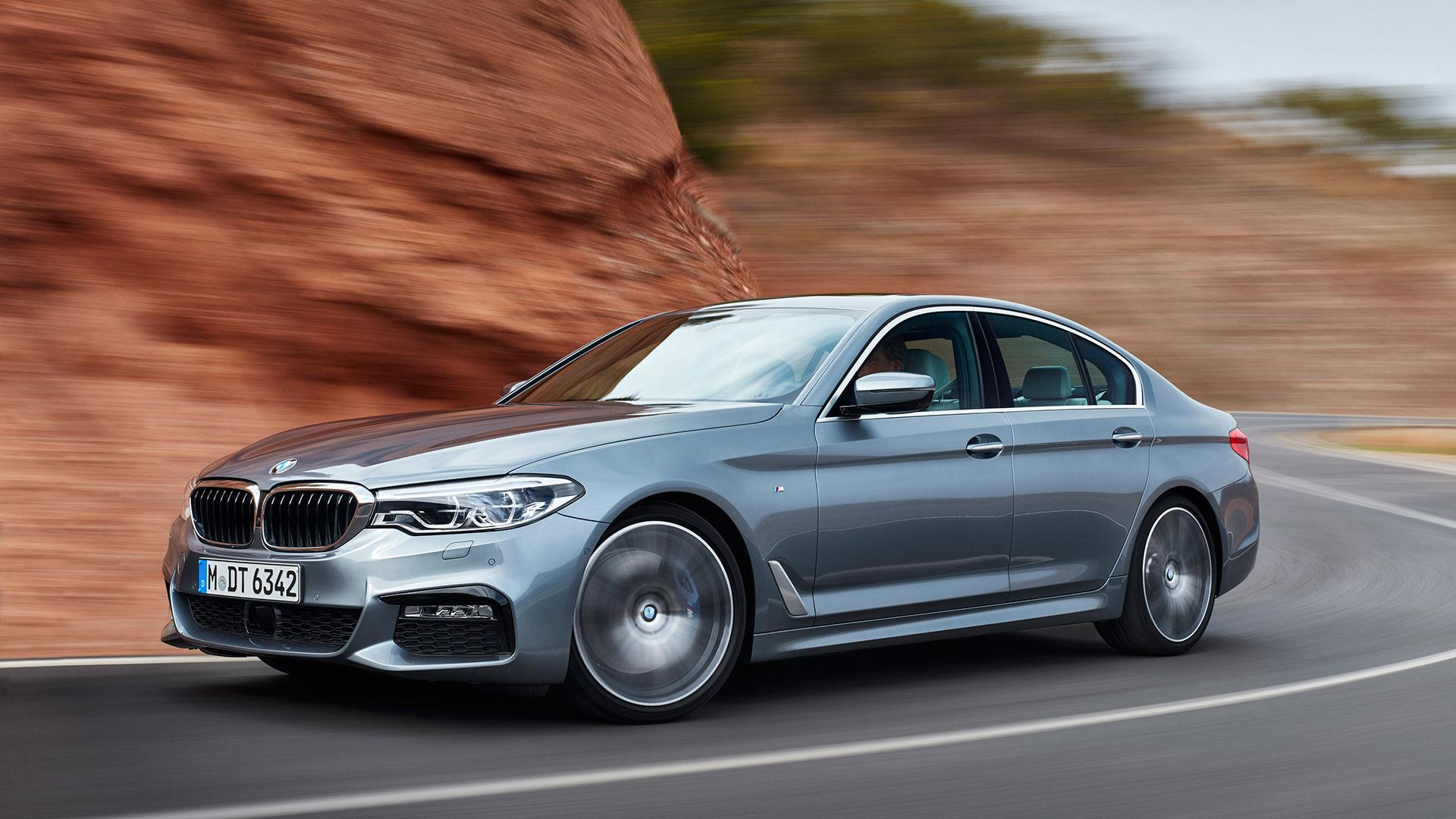 Driving the 2017 BMW 5 Series Is Like Touching Tomorrow