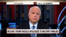 John McCain Responds To Donald Trump's Comments