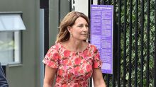 Carole Middleton visits daughter Pippa and newborn baby boy at Chelsea home