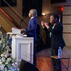 Rev. Al Sharpton eulogizes George Floyd at Minneapolis memorial service