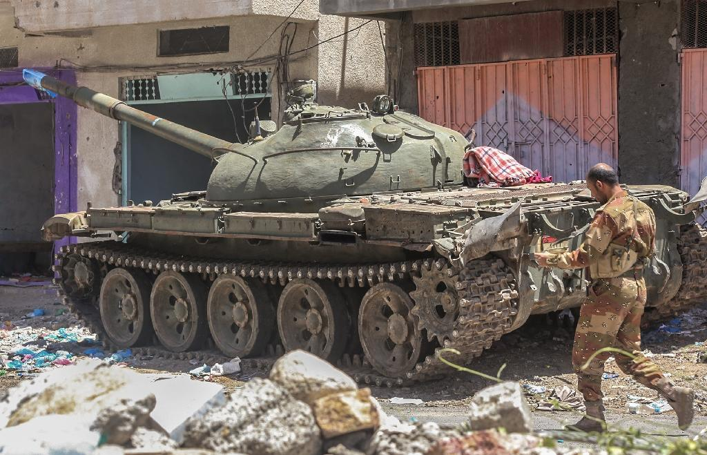 Yemen has been hit by unrest since the Huthi rebels and allied forces loyal to former president Ali Abdullah Saleh overran Sanaa in September 2014 (AFP Photo/Ahmad Al-Basha)
