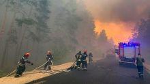 Five dead in Ukrainian forest fire