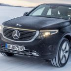 2021 Mercedes-Benz EQC First Ride | Sideways (and freezing) in Benz's new EV