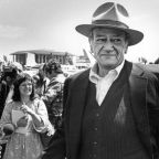 Column: John Wayne's heroism was fake. Take his name off Orange County's airport