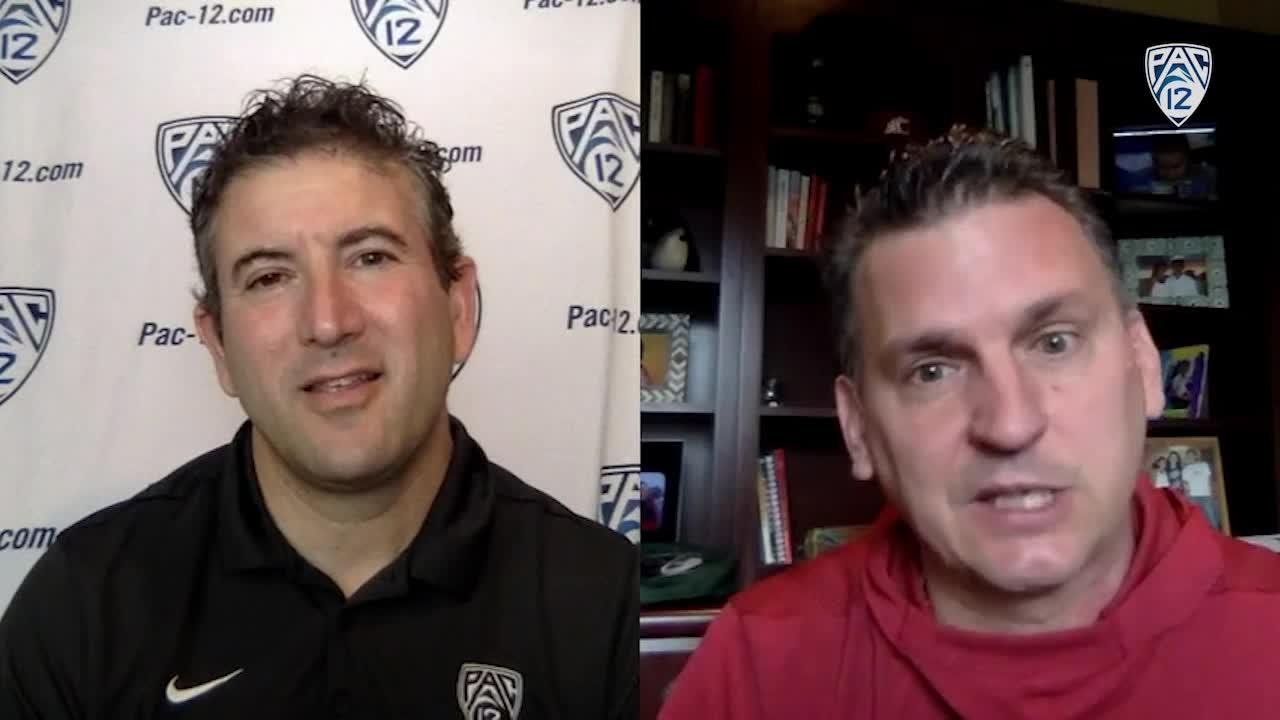Kyle Smith and Andy Katz discuss WSU's remote learning, team's young and dynamic core [Video]