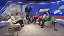 Sandra Maischberger diskutiert über die Betreuungsfalle