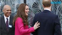 Kate Middleton Looks Pretty in Pink for Her Final Public Appearance Before Giving Birth to Royal Baby No. 2!