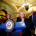 U.S. senators reach bipartisan deal on Obamacare, Trump indicates support