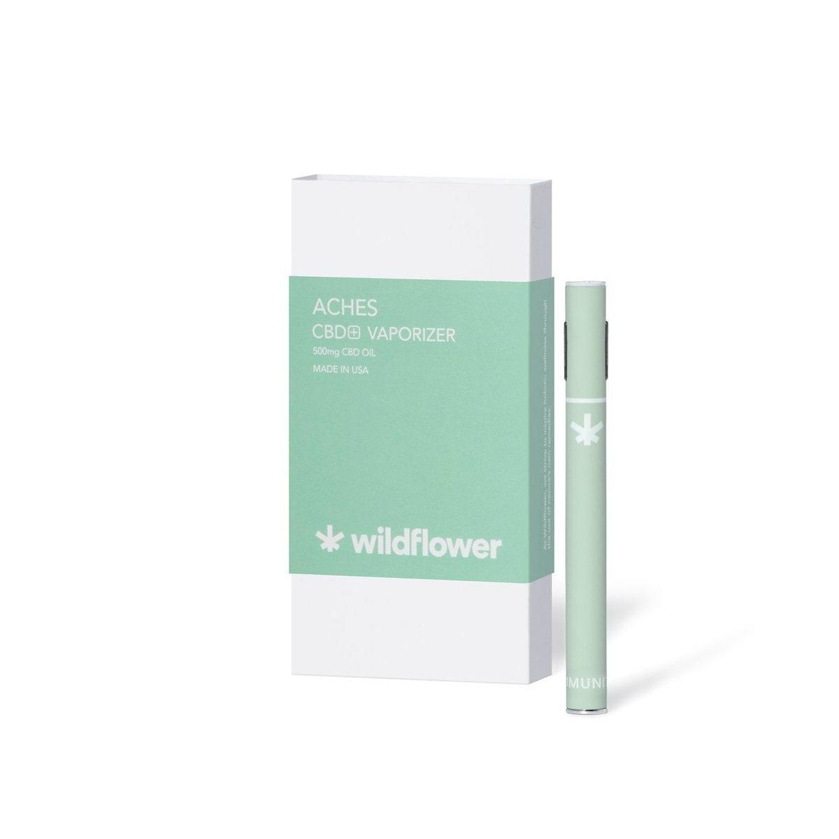 """<p>What cannabis user hasn't wondered if a little puff would help with a head cold or other common illnesses? Wildflower <a href=""""https://buywildflower.com/collections/vaporizers/products/immunity-cbd-vaporizer"""" rel=""""nofollow noopener"""" target=""""_blank"""" data-ylk=""""slk:crafted an Immunity vaporizer"""" class=""""link rapid-noclick-resp"""">crafted an Immunity vaporizer</a> aimed to treat symptoms such as coughs, headaches, and blocked sinuses. The hemp-based formula also contains eucalyptus oil. It's sold both in a disposable pen and as a cartridge for the rechargeable vaporizer. There's also a <a href=""""https://buywildflower.com/collections/vaporizers/products/aches-cbd-vaporizer"""" rel=""""nofollow noopener"""" target=""""_blank"""" data-ylk=""""slk:formula for Aches"""" class=""""link rapid-noclick-resp"""">formula for Aches</a> which highlights cannabis's anti-inflammatory properties.</p> <p><strong>$60</strong> (<a href=""""https://buywildflower.com/collections/vaporizers"""" rel=""""nofollow noopener"""" target=""""_blank"""" data-ylk=""""slk:Shop Now"""" class=""""link rapid-noclick-resp"""">Shop Now</a>)</p>"""