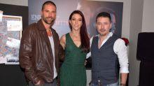 Fernanda, Matías y Raúl con el Enemigo íntimo