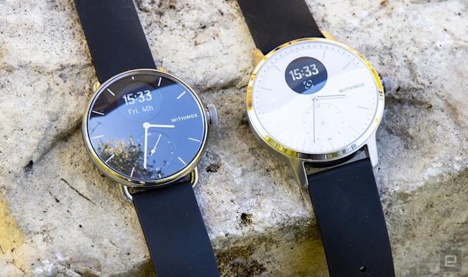 Withings' hybrid ScanWatch is set to arrive in the US next month
