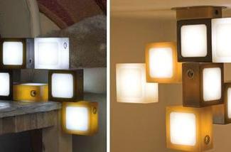 Glide's Twist-Together decorative LED light cubes