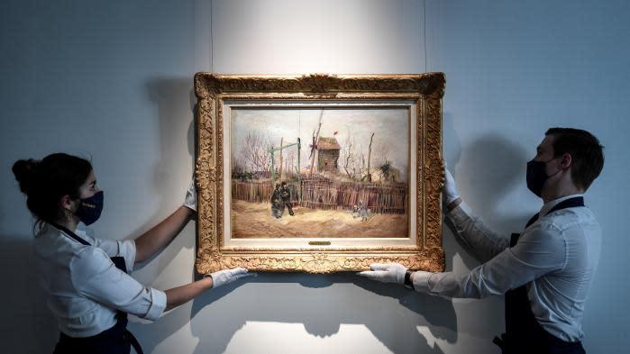 """""""Scène de rue à Montmartre"""" : un Van Gogh de la période parisienne mis en vente en mars"""