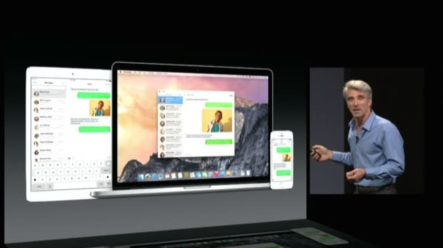 Apple improves iOS OS X integration with iMessage, Hotspot, and sharing upgrades