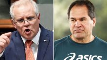 Scott Morrison's message to the Wallabies ahead of Bledisloe opener