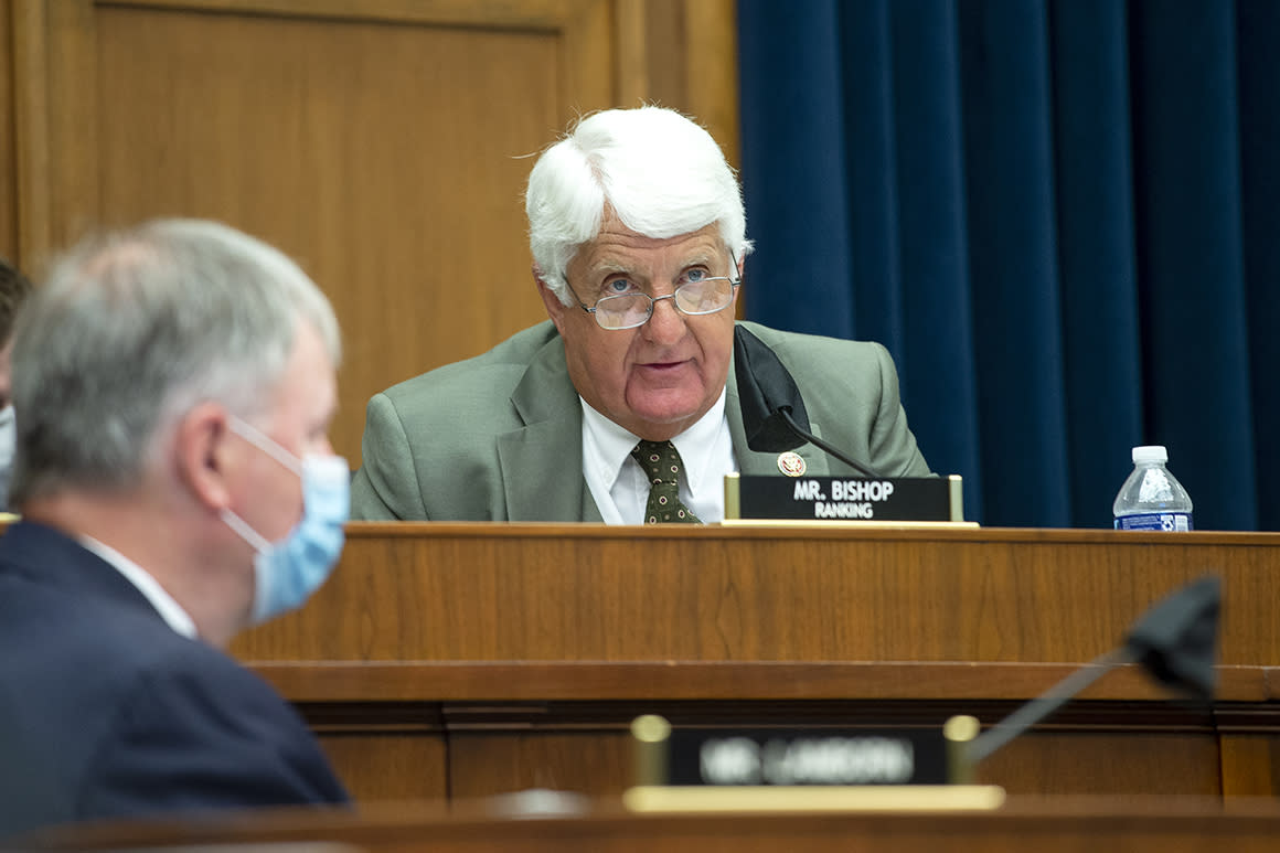 Bishop warns conservation bill could rob eastern states of forest money