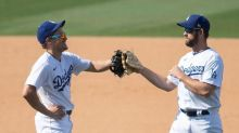 Pollock hits 2 HRs, playoff-bound Dodgers blank Angels 5-0