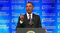 "Obama: ""Planned Parenthood isn't going anywhere"""