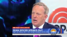 Sean Spicer: I 'See No Evidence' That Mueller's Probe Is A 'Witch Hunt'