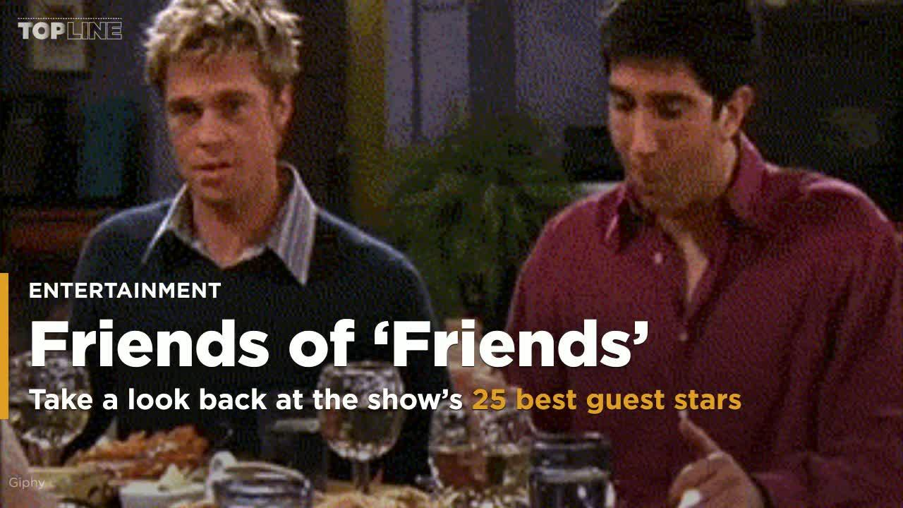25 best celebrity guest stars on 'Friends'