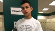 High school student sends powerful message with a simple t-shirt