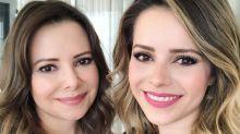 Sandy homenageia a mãe e Noely recebe elogios: 'Gêmeas'