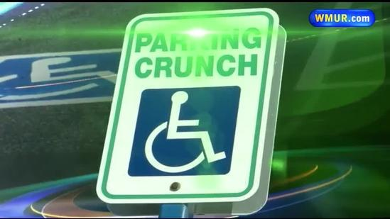 Handicapped parking spaces in high demand