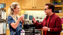 Big Bang Theory's Kaley Cuoco and Johnny Galecki finally reunite